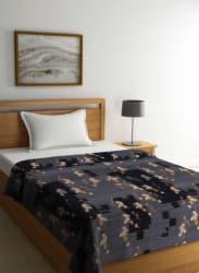 Grey Polyester Blanket