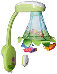Fisher Price Rainforest Grow with Me Projection Mobile, Multi Color