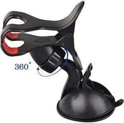 FloMaster Car Mobile Holder for Windshield (Black)