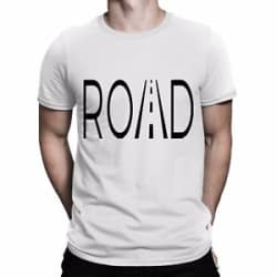 Road Printed T shirt tee Men Women Gift for him diwali gift FREE SHIPPING