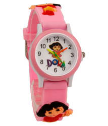 S S TRADERS-Cute Multicolour analog watch,Good Gift item for kids -Children Watch 23457