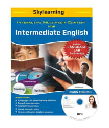 SKYLearning Interactive Multimedia Content For Intermediate English DVD