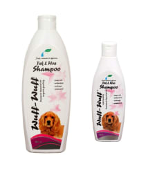 Wuff-Wuff white tick and flea dog/pet(200+500ml)combo Shampoo