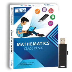Letstute CBSE Math Class IX and X Combo Pack Pen Drive