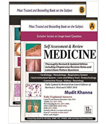 MUDIT KHANNA S SELF ASSESSMENT & REVIEW MEDICINE (PART A & B) 12th EDITION