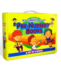 My Complete Kit of Pre-Nursery Books- A Set of 8 Books