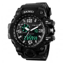 Skmei Black Analog & Digital Watch for Men and Boys