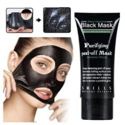 Shills Black Mask Peel-off Facial Purifying Deep Clean Blackhead Cleaning
