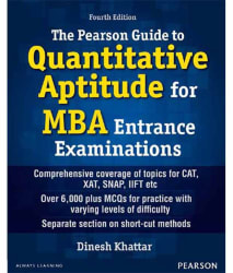 The Pearson Guide To Quantitative Aptitude For MBA Entrance Examinations 4/E Pb