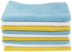 AmazonBasics Microfiber Cleaning Cloth - 222 GSM (Pack of 48)