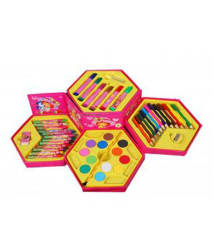 Colouring Kit For Kids - 46 Piece