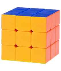 Stylezit Multicoloured Stickerless Speed Cube 3x3x3