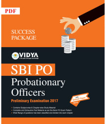 SBI PO Exam Probationary Officer (English) PDF Downloadable Content