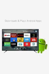 CloudWalker Cloud TV 55SU 139 cm (55 Inches) Ultra HD 4K LED Smart TV (Black)