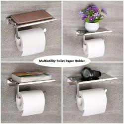 Spartan Stainless Steel Multipurpose Toilet Paper Holder (bathroom accessories)