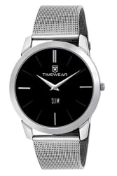 TIMEWEAR Slim Series Analog Black Dial Men s Watch