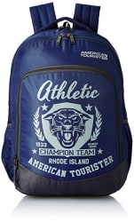 American Tourister 27 Ltrs Blue Casual Backpack (AMT VOLT BACKPACK 02 - BLUE)