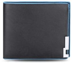Solid Color Horizontal Short Open Wallet for Men Women
