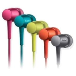 Sony MDR-EX750AP Stereo In Ear Earphone With MIC Assorted color
