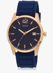 W0991g4 Blue/Blue Analog Watch