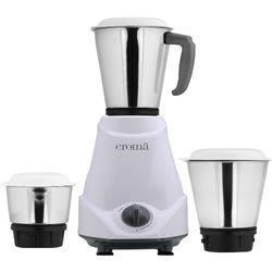 Croma CRK4163 500W Mixer Grinder (White)