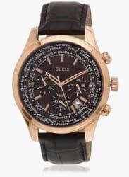 W0500g3 Brown/Brown Chronograph Watch