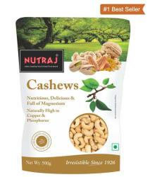 Nutraj Healthy Bites Regular Cashew nut (Kaju) W320 Plain 500 gm