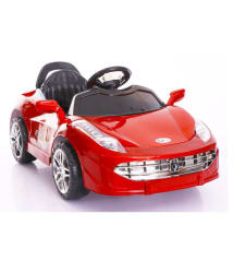 Toyhouse Sporty Rechargeable Battery Painted Ride-on car, Red