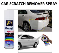 F1 Car Scratch Remover Touchup Spray Paint 450ml White