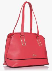 Valka -3 Red Large Satchel Bag