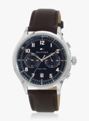 Th1791385 Brown/Blue Analog Watch