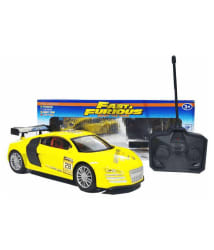 Yellow-Audi-(Without-Battery)-Fast-Furious