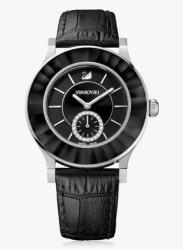 Black/Black Metal Analog Watch