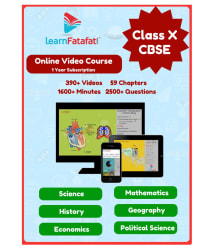 LearnFatafat CBSE Class 10 Video Course for Science, Mathematics and SST Online Study Material