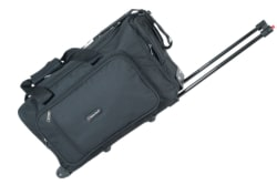 indian Riders Black Solid Duffle Bag Travel Bag