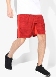 Tech Printed Woven 8 Red Shorts