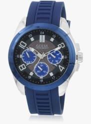 W1050g1 Blue/Grey Multifunction Analog Watch