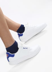 New York Knicks White Sneakers