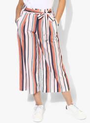 Multicoloured Striped Culottes