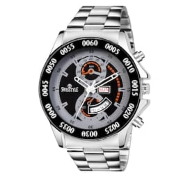 Swisstyle s Black dial Day and Date Analog Watch-SS-GR066-BLK-CH