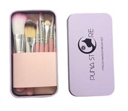 Puna Store Make Up Brush Set, 7 Pieces