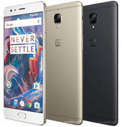 Refurbished Good Condition OnePlus 3T Duos 64GB, 6GB RAM 6 Month Mnfr.Warranty