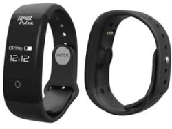 Intex Fitrist Pulzz Fitness water proof Heart Sensor android ios Black/Blue GST