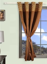 Premium Digital Printed Blackout Curtain With Eyelets