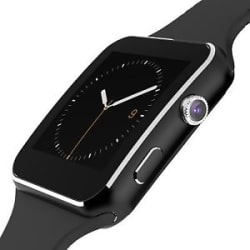 Z1 Bluetooth Smart Watch Curved Screen Smartwatch For iPhone Android (Black)