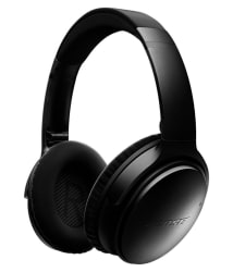 Refurbished Bose QuietComfort-35 On Ear Wireless Without Mic Black ( 6 Month Seller Warranty )