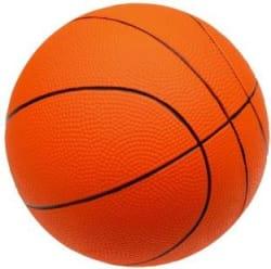 Extrawish 6MH Basketball - Size: 6 Pack of 1, Orange