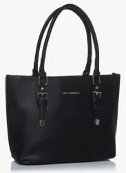 Black Polyurethane (Pu) Handbag