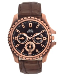 Louis Geneve Brown Analog Men s Watch