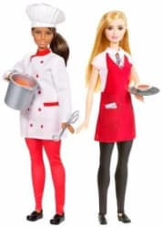 Barbie Friend Career, Multi Color (Pack Of 2)(Multicolor)